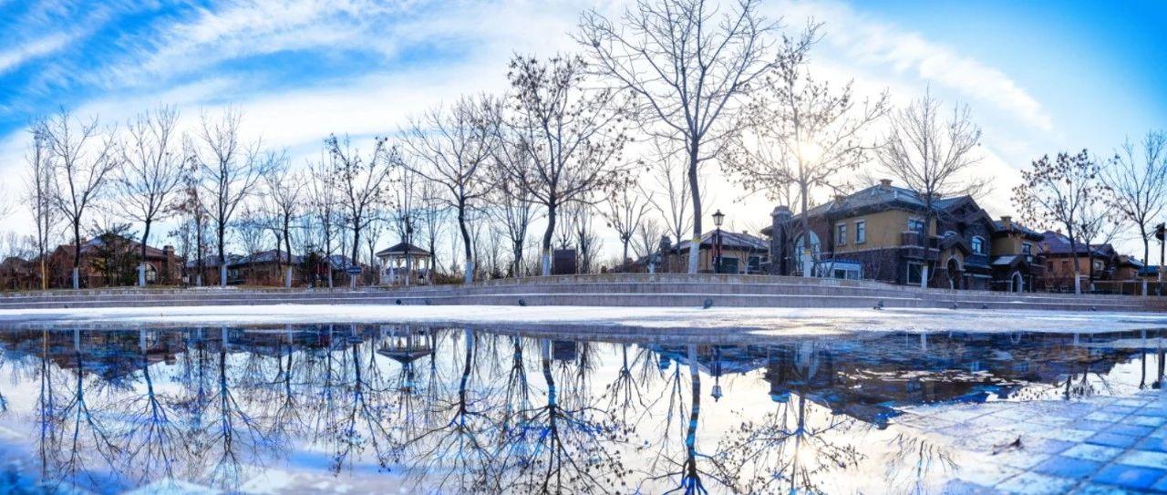大雪纷飞的冬日里,用暖勾勒美好生活